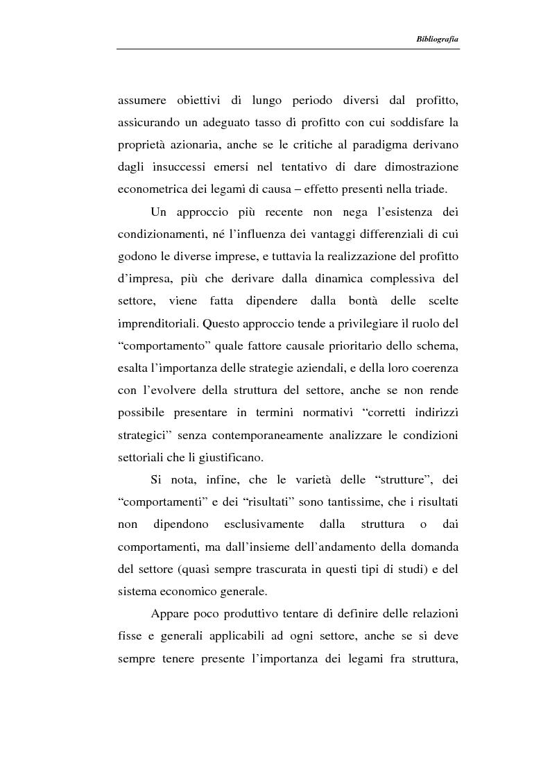 Anteprima della tesi: Modelli di persistenza dei profitti, Pagina 8