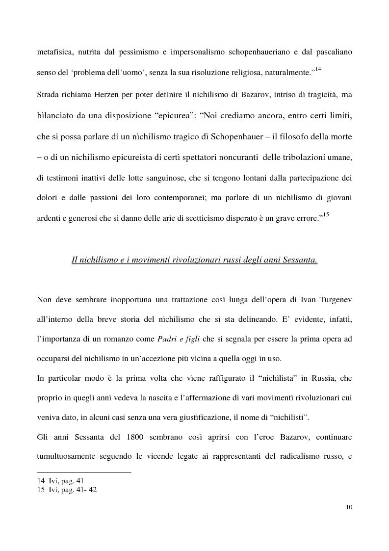 Anteprima della tesi: L'impossibilità del negativo. Il problema del nichilismo in Fedor M. Dostoevskij, Pagina 10