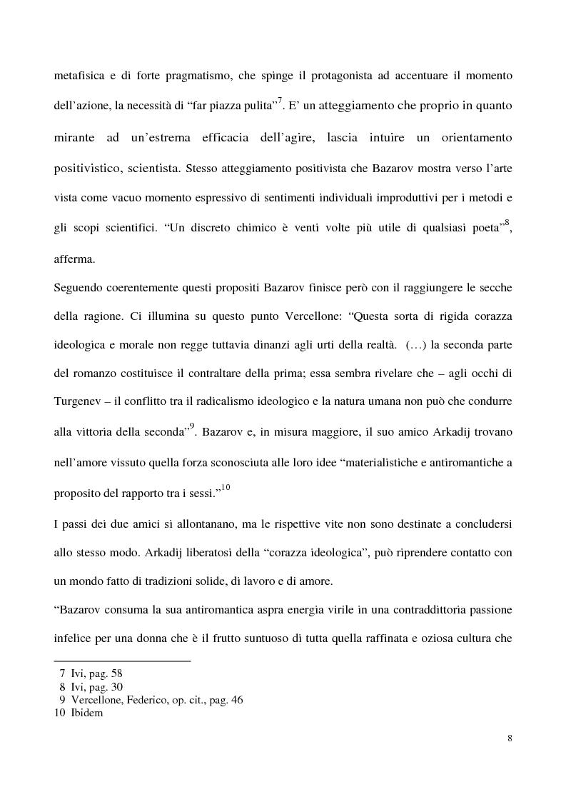Anteprima della tesi: L'impossibilità del negativo. Il problema del nichilismo in Fedor M. Dostoevskij, Pagina 8