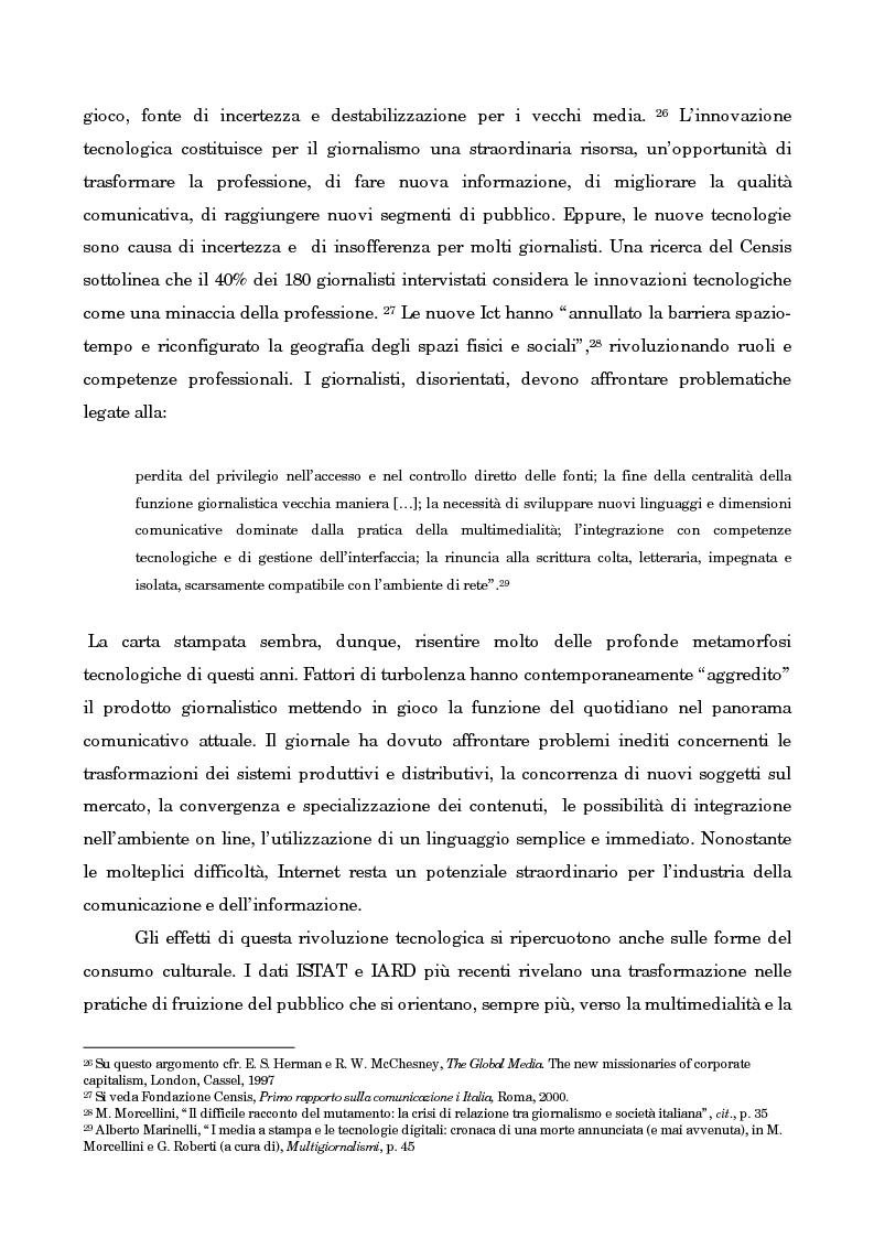 Anteprima della tesi: Leggo City in Metro. Viaggio nel fenomeno della free press, Pagina 11