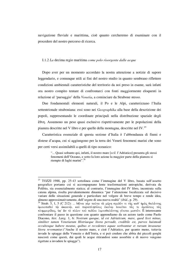 Anteprima della tesi: L'economia della palude e l'economia del mare nell'Alto Adriatico romano: immaginario antico e nuove prospettive esegetiche, Pagina 14