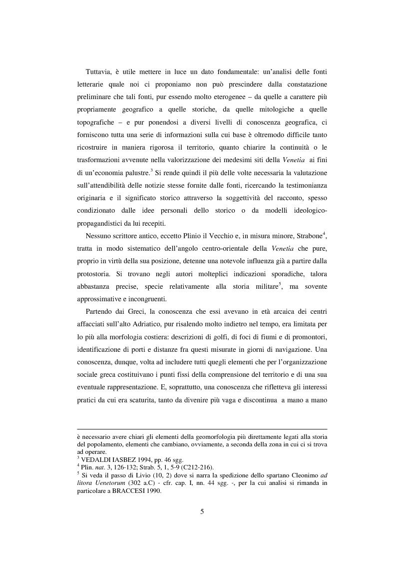 Anteprima della tesi: L'economia della palude e l'economia del mare nell'Alto Adriatico romano: immaginario antico e nuove prospettive esegetiche, Pagina 2