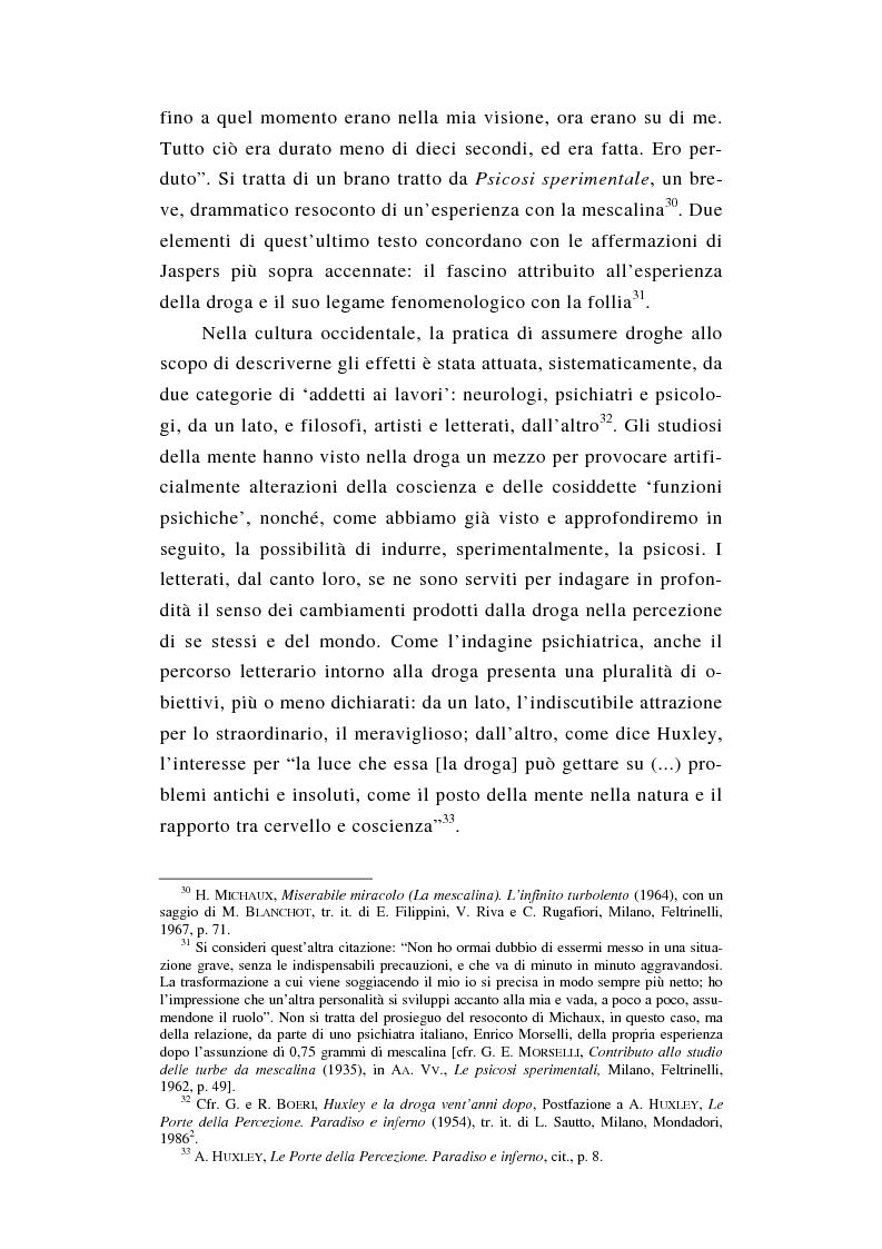 Anteprima della tesi: L'esperienza nuda. Spazio, tempo e colore nella riflessione di A. Huxley, Pagina 12