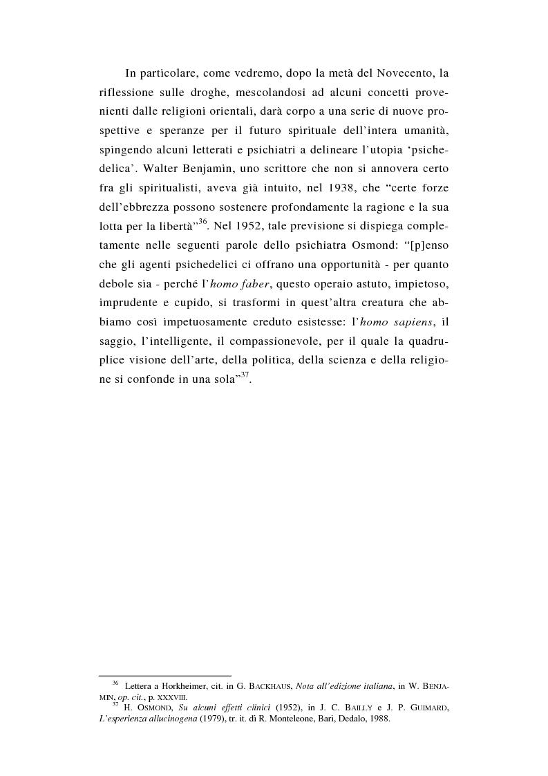 Anteprima della tesi: L'esperienza nuda. Spazio, tempo e colore nella riflessione di A. Huxley, Pagina 14