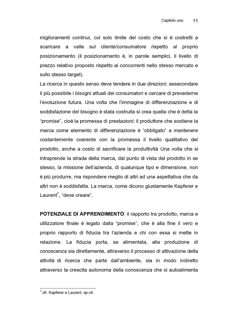 Anteprima della tesi: Le strategie di sviluppo della marca commerciale in Europa: il caso di Coop Italia, Pagina 14