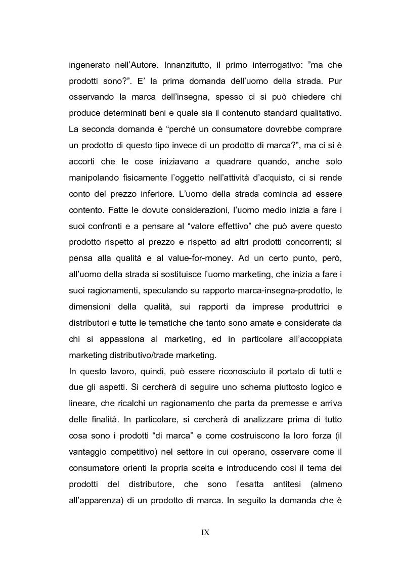Anteprima della tesi: Le strategie di sviluppo della marca commerciale in Europa: il caso di Coop Italia, Pagina 2