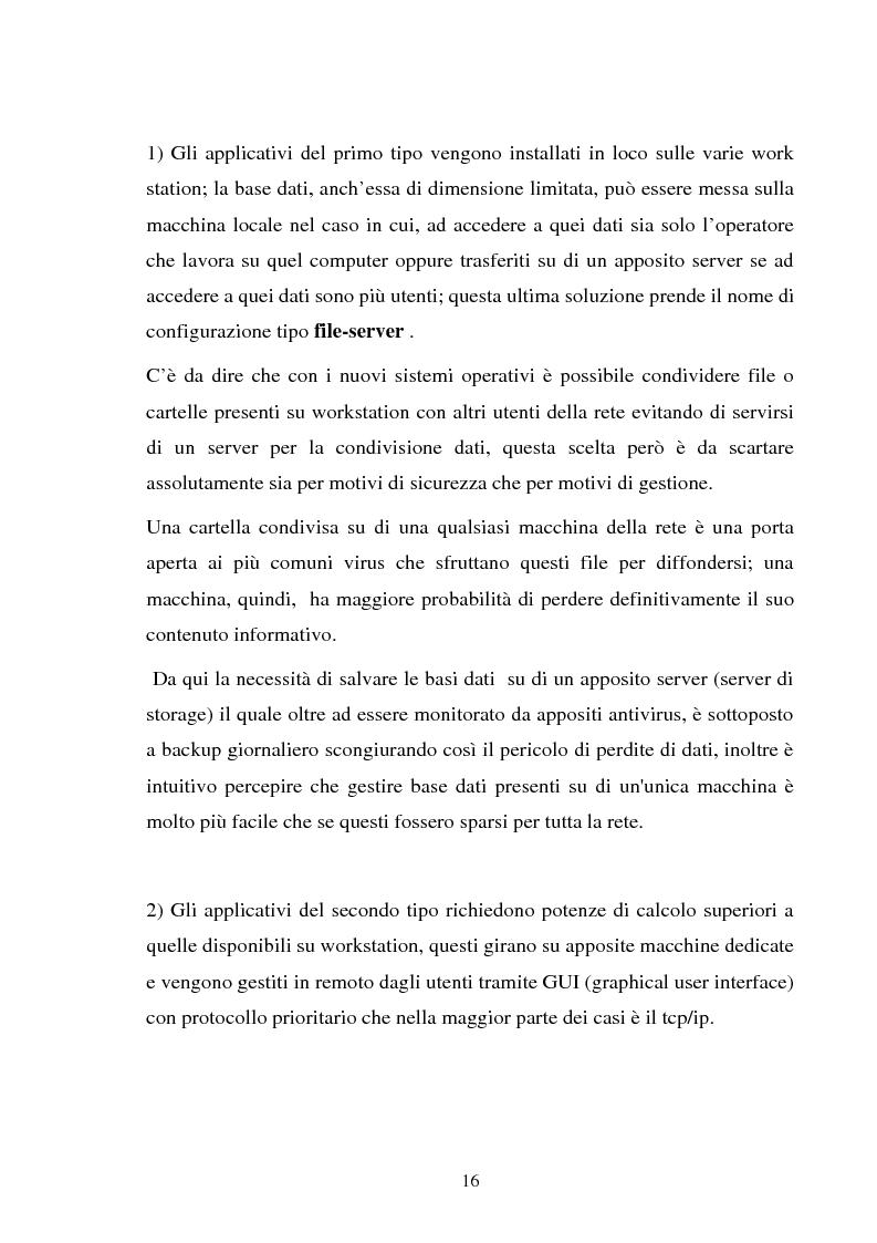 Anteprima della tesi: Gestione dell'utente e del suo desktop in un sistema informativo sanitario, il desktop management, Pagina 11