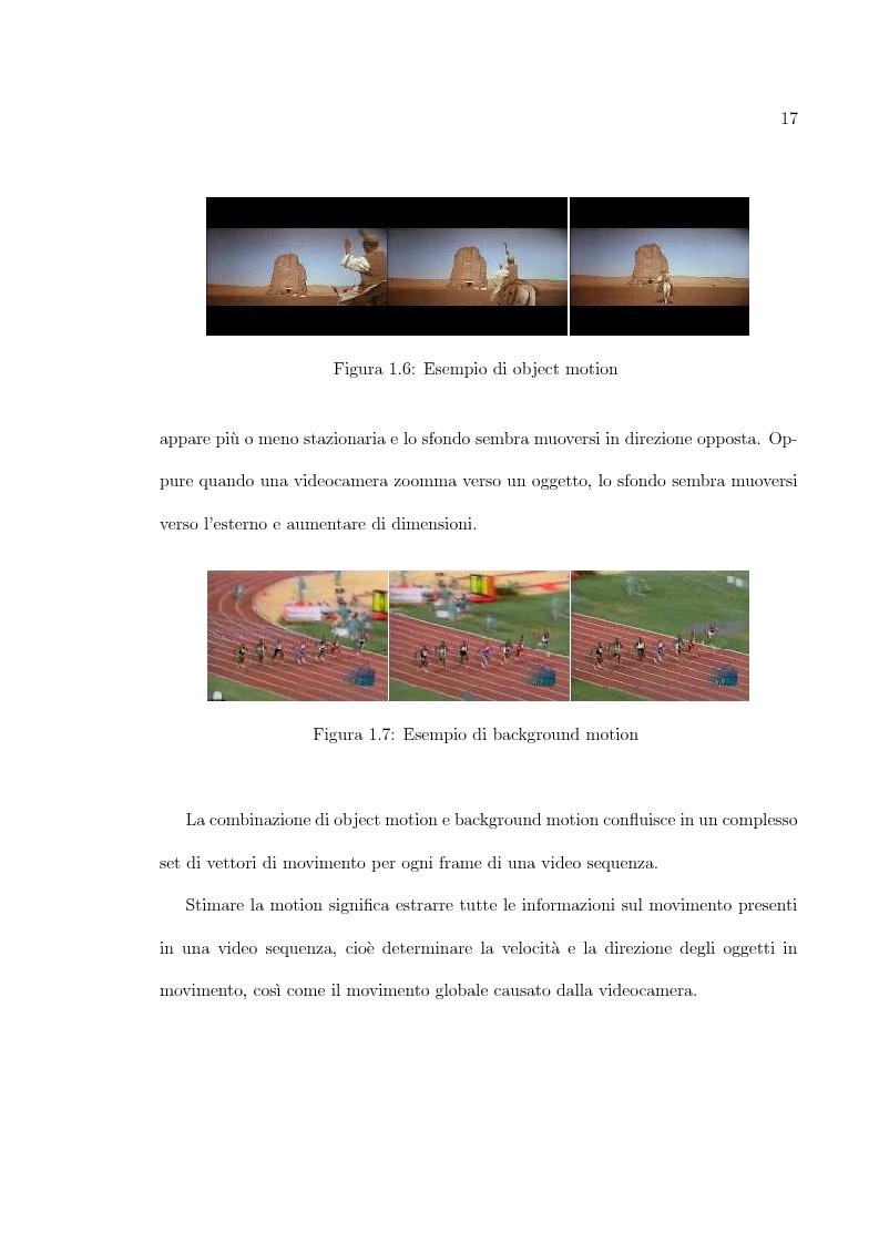 Anteprima della tesi: Uso di tecniche di motion detection per la video segmentazione, Pagina 12