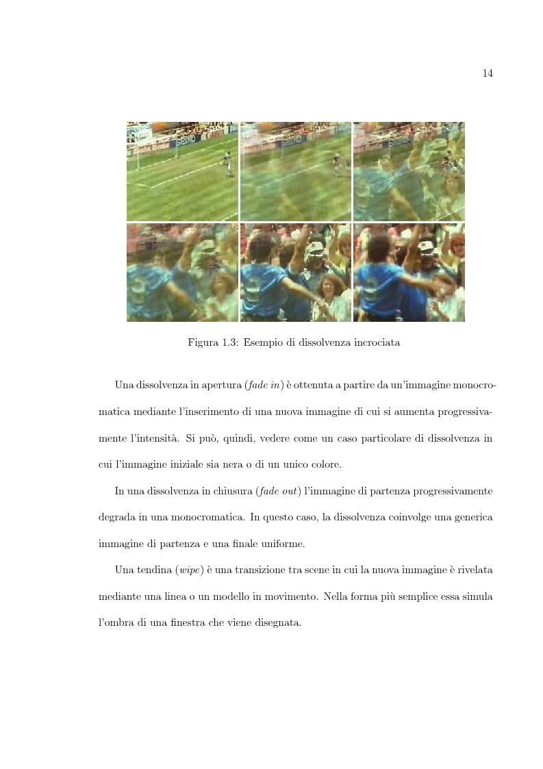 Anteprima della tesi: Uso di tecniche di motion detection per la video segmentazione, Pagina 9