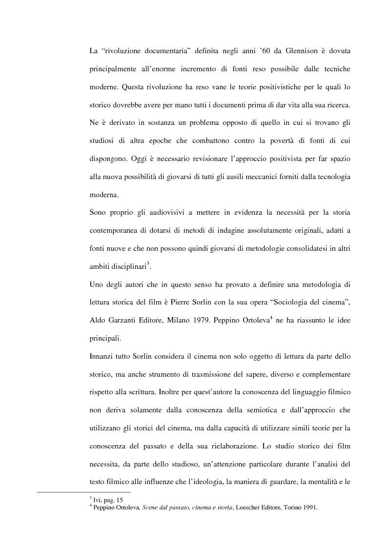 Anteprima della tesi: La guerra italiana nei documentari del Luce 1940-1943, Pagina 5
