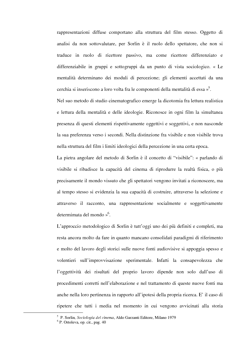 Anteprima della tesi: La guerra italiana nei documentari del Luce 1940-1943, Pagina 6