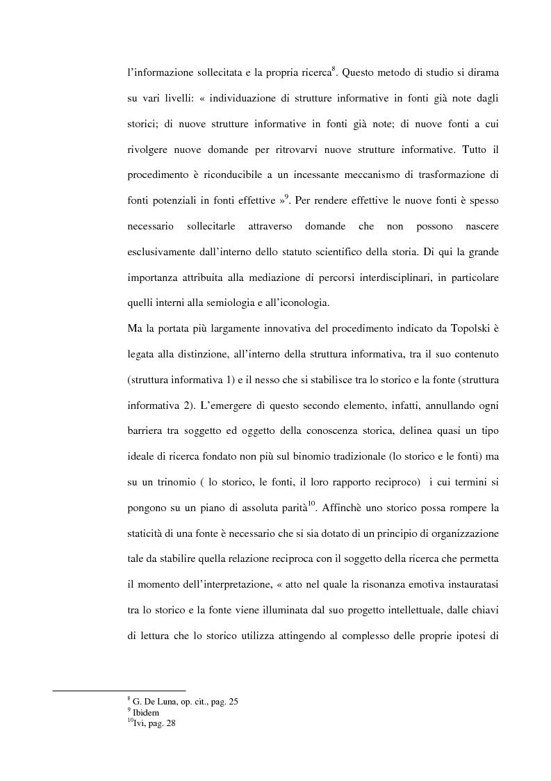 Anteprima della tesi: La guerra italiana nei documentari del Luce 1940-1943, Pagina 9