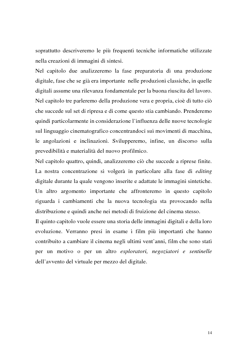 Anteprima della tesi: Influenza delle nuove tecnologie digitali sul cinema contemporaneo, Pagina 11