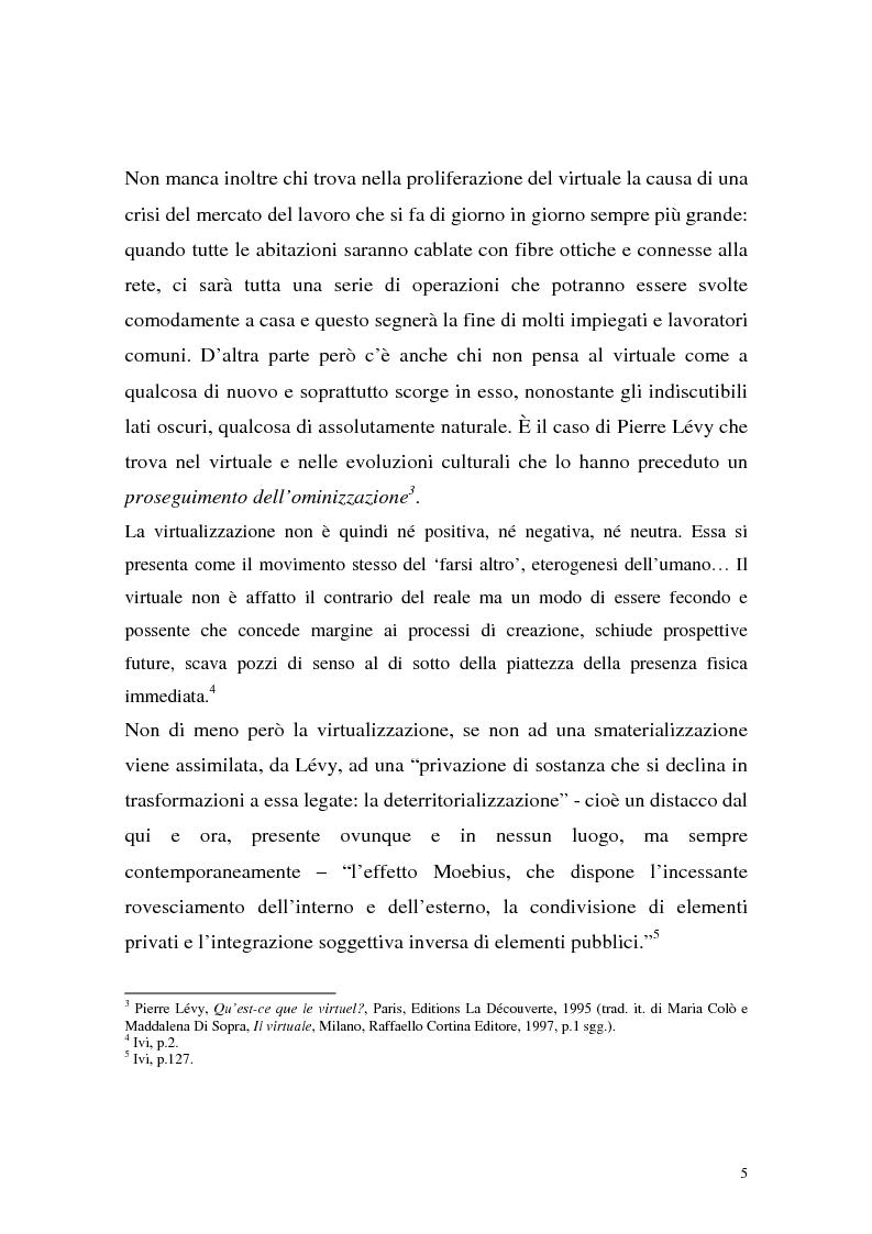 Anteprima della tesi: Influenza delle nuove tecnologie digitali sul cinema contemporaneo, Pagina 2