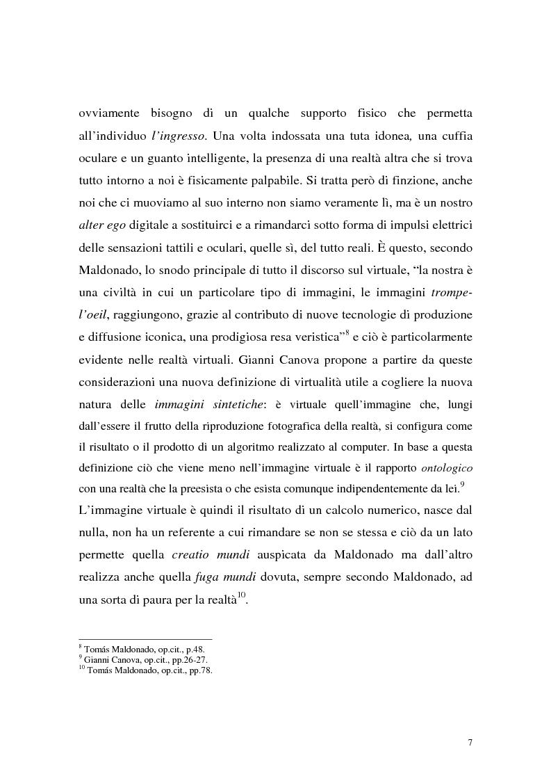 Anteprima della tesi: Influenza delle nuove tecnologie digitali sul cinema contemporaneo, Pagina 4