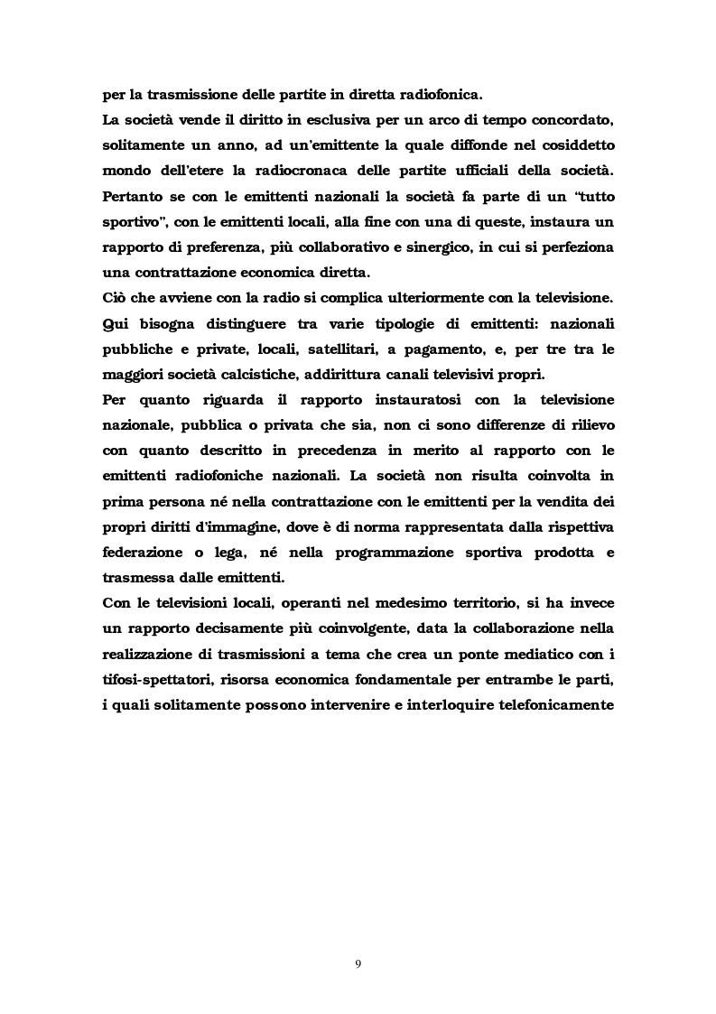Anteprima della tesi: La comunicazione multimediale nelle società sportive, Pagina 7