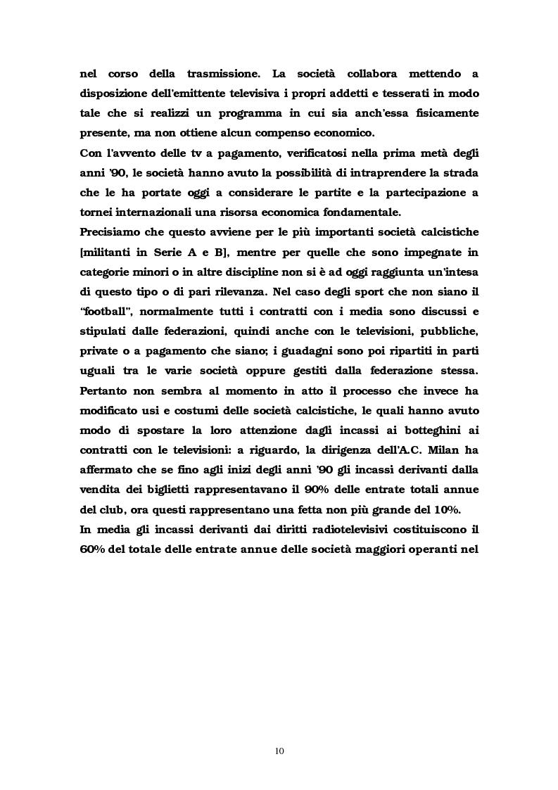 Anteprima della tesi: La comunicazione multimediale nelle società sportive, Pagina 8