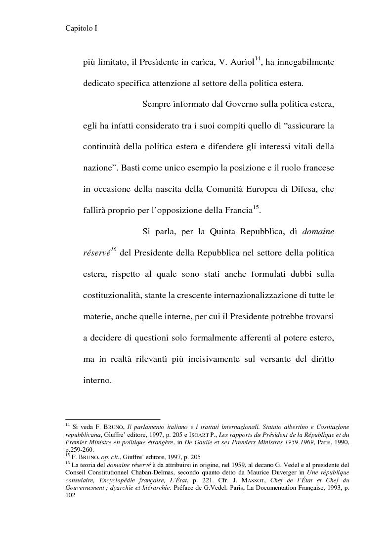 Anteprima della tesi: La Costituzione francese del 1958 e l'Unione europea, Pagina 10