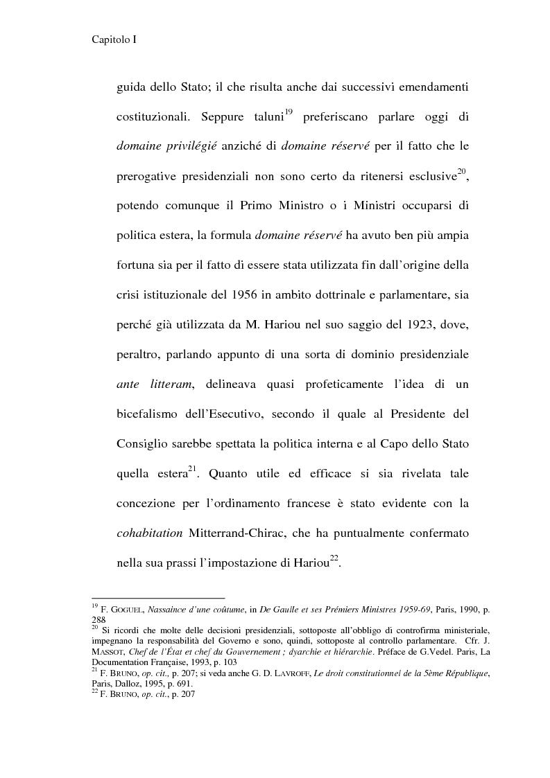 Anteprima della tesi: La Costituzione francese del 1958 e l'Unione europea, Pagina 12