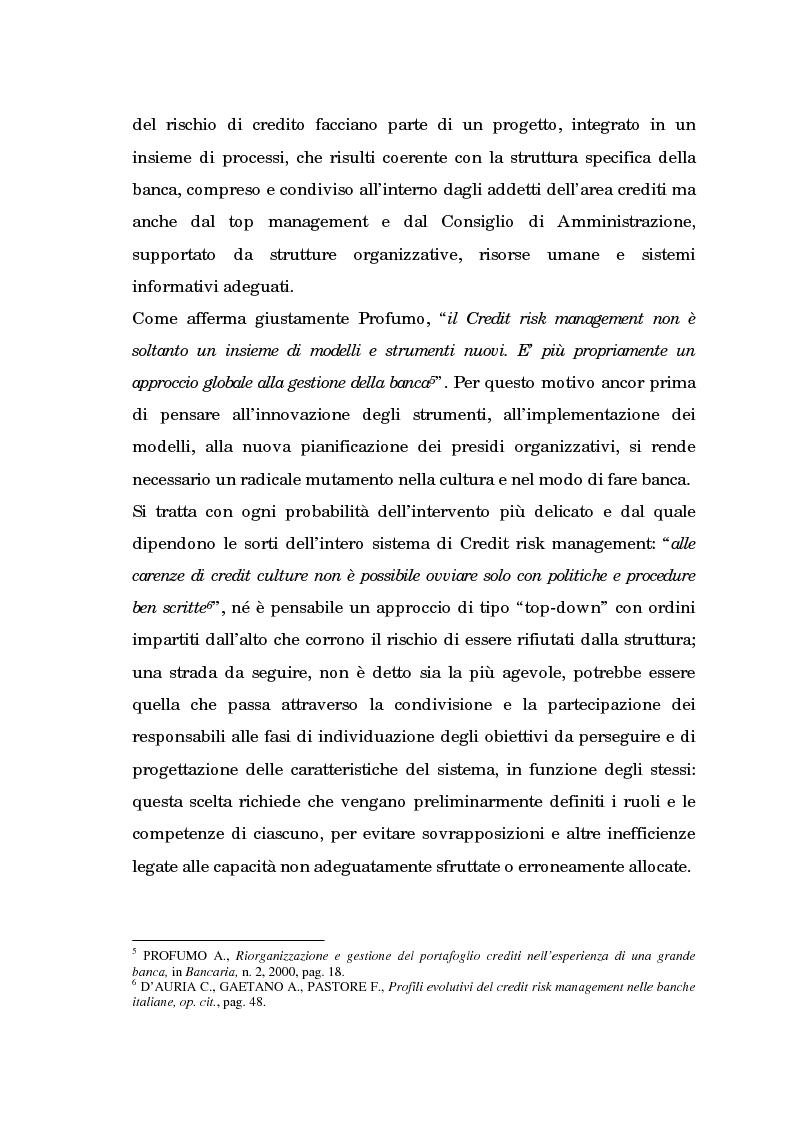 Anteprima della tesi: Profili evolutivi della valutazione e della rappresentazione dei crediti nei conti e nel bilancio delle banche. Aspetti normativi, regolamentazione di Basilea e principi contabili internazionali, Pagina 6