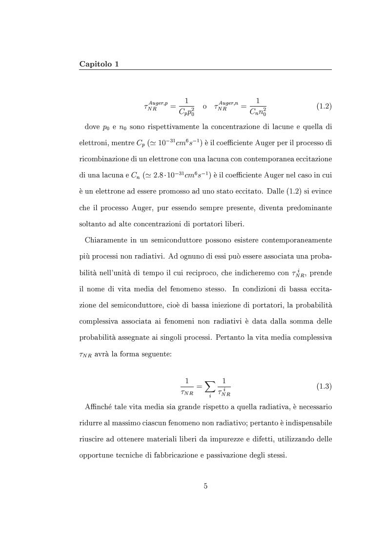 Anteprima della tesi: Interazione tra nanocristalli di silicio e ioni Er, Pagina 10