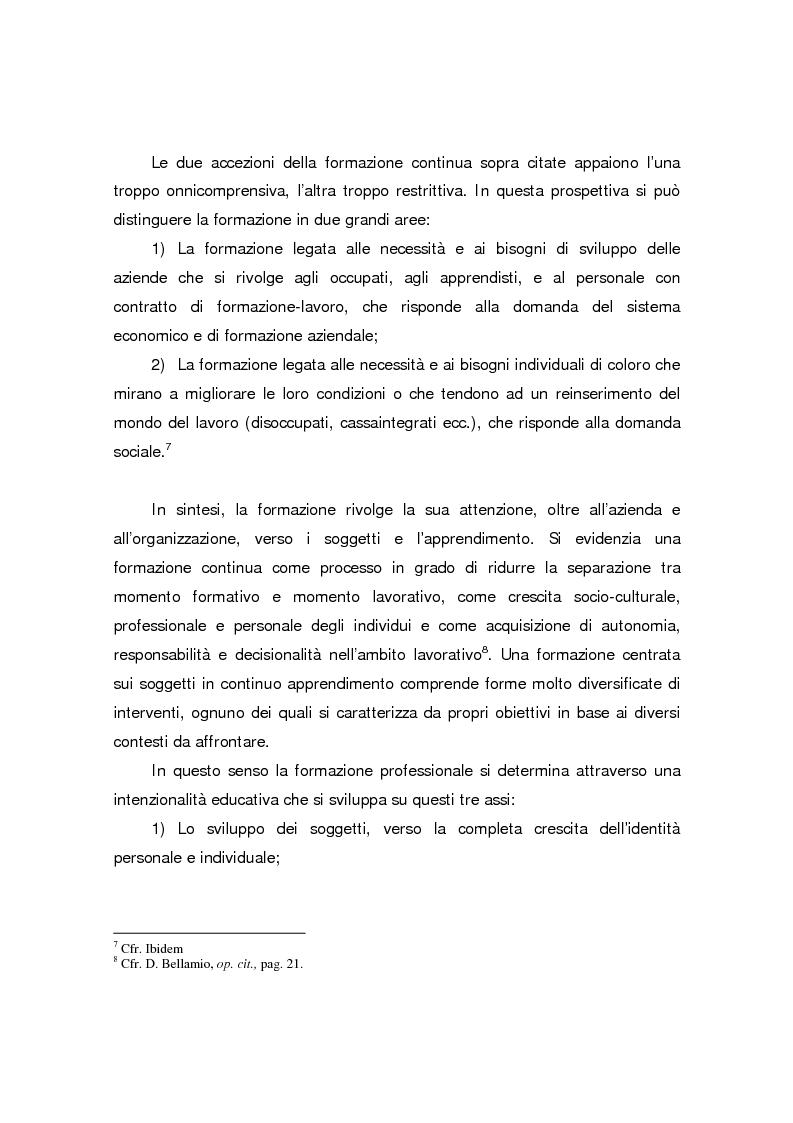 Anteprima della tesi: Formazione continua nella sanità: il programma di educazione continua in sanità, Pagina 10