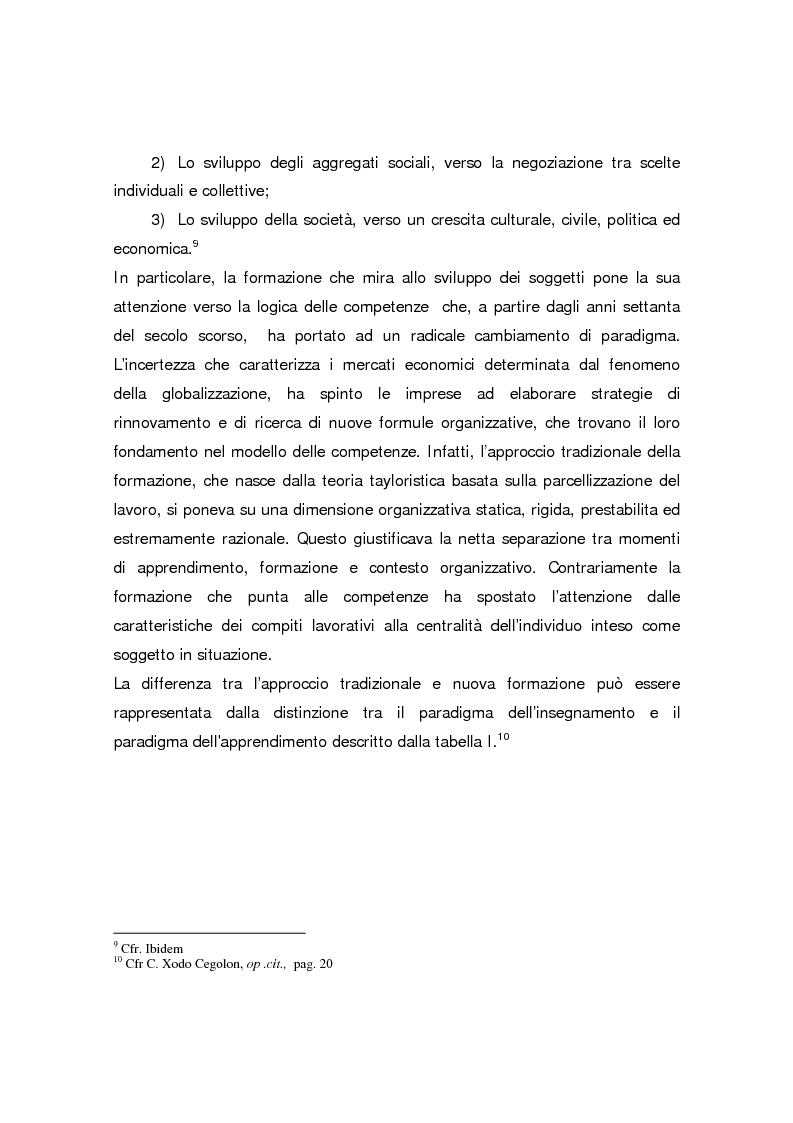 Anteprima della tesi: Formazione continua nella sanità: il programma di educazione continua in sanità, Pagina 11