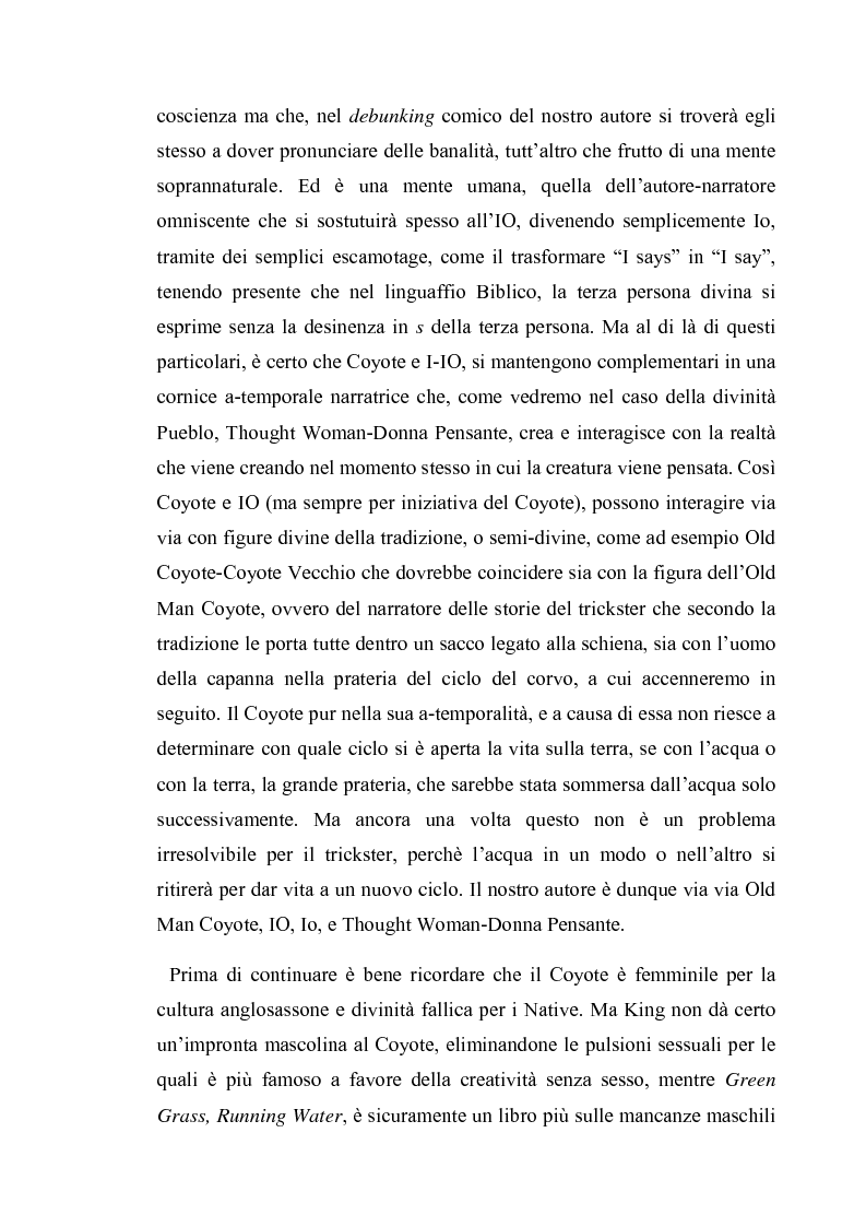Anteprima della tesi: Thomas King, Green Grass Running Water. Traduzione e commento testuale, Pagina 10
