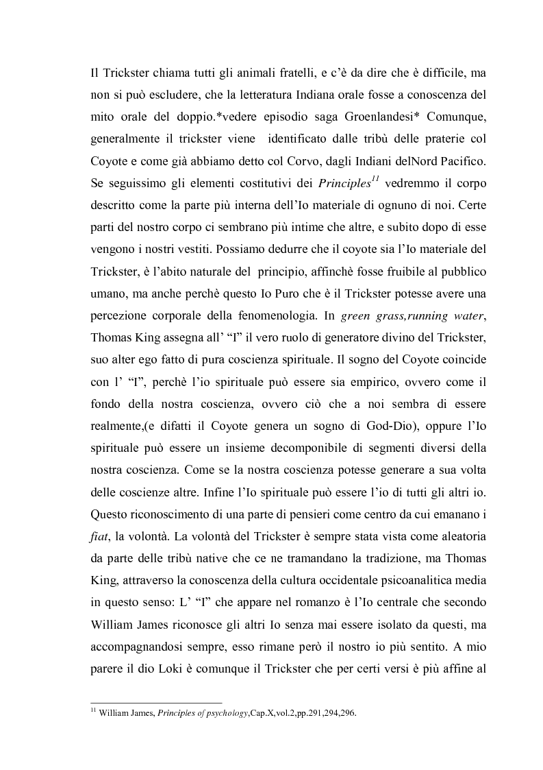 Anteprima della tesi: Thomas King, Green Grass Running Water. Traduzione e commento testuale, Pagina 13
