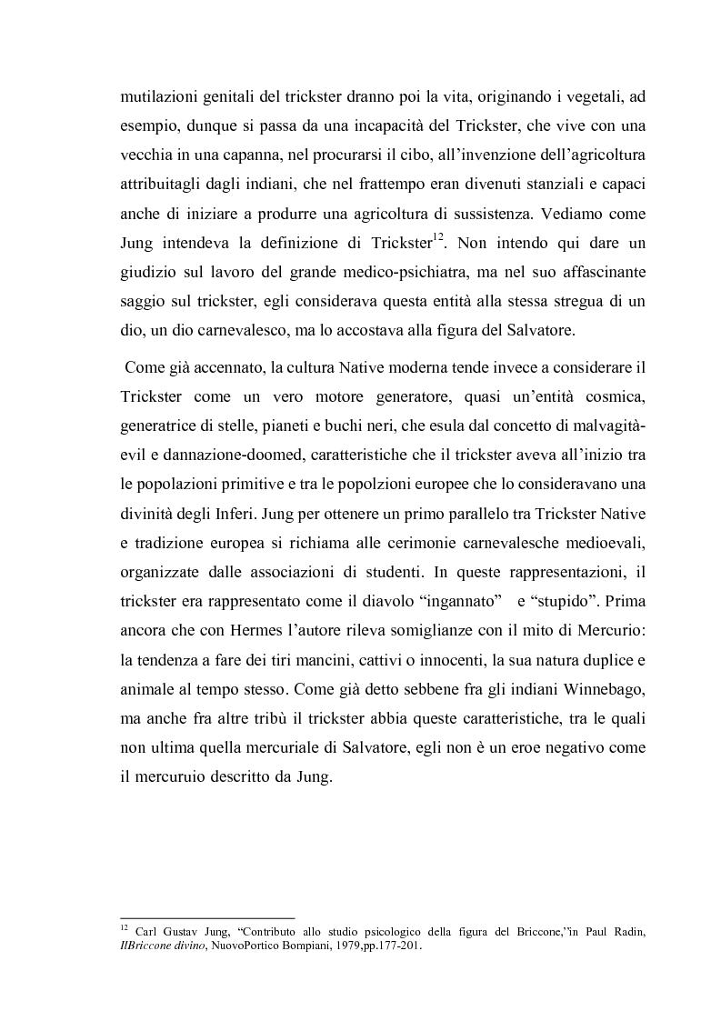 Anteprima della tesi: Thomas King, Green Grass Running Water. Traduzione e commento testuale, Pagina 15