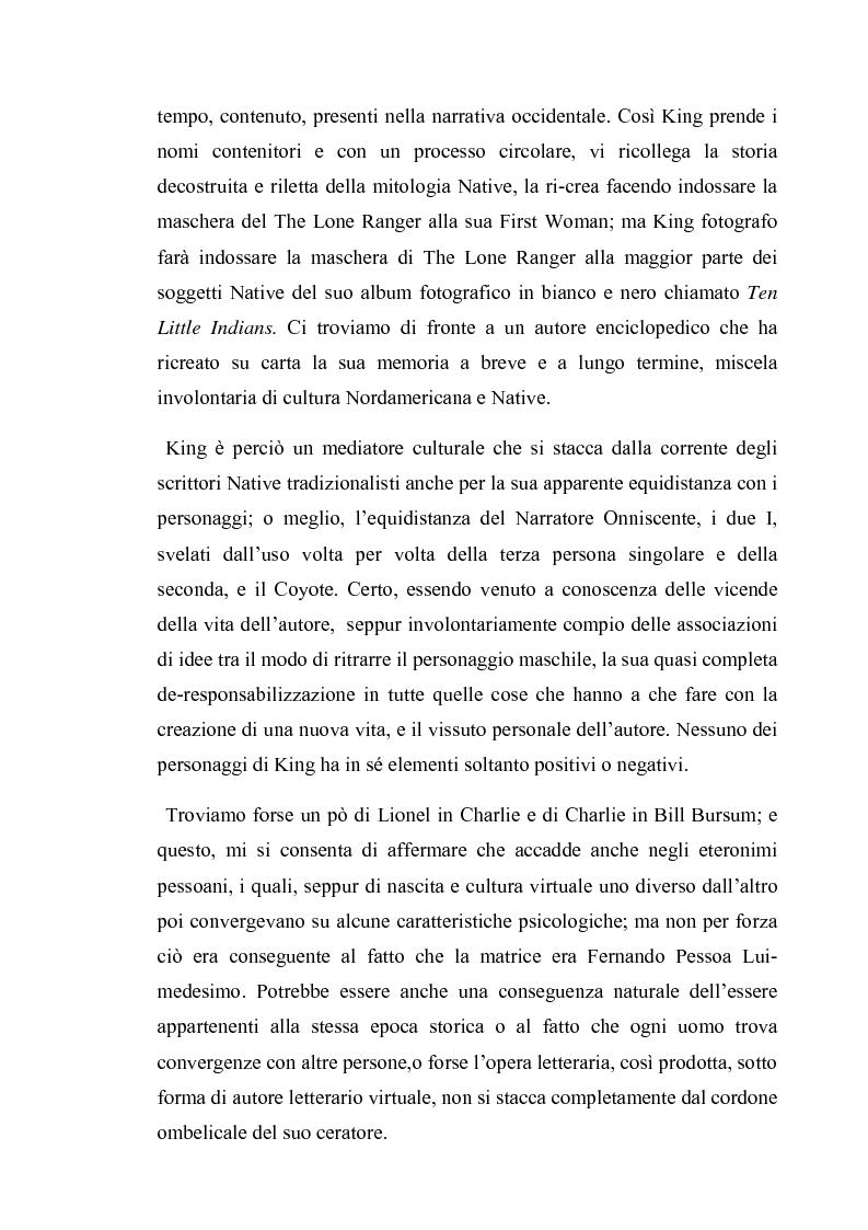 Anteprima della tesi: Thomas King, Green Grass Running Water. Traduzione e commento testuale, Pagina 5