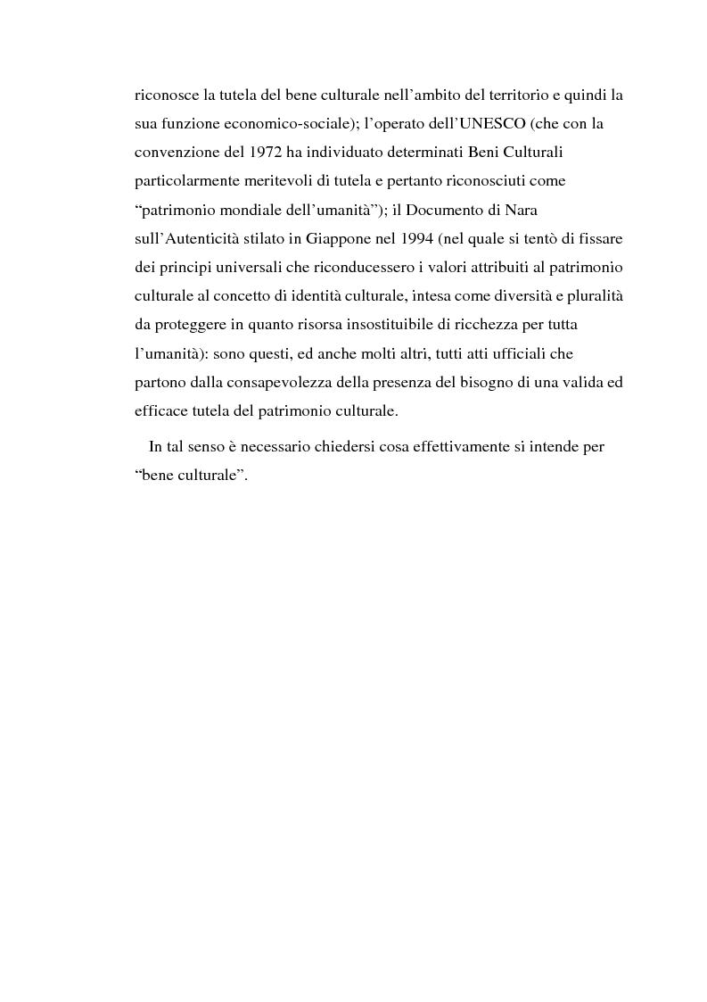 Anteprima della tesi: Il diritto di prelazione artistica, Pagina 2