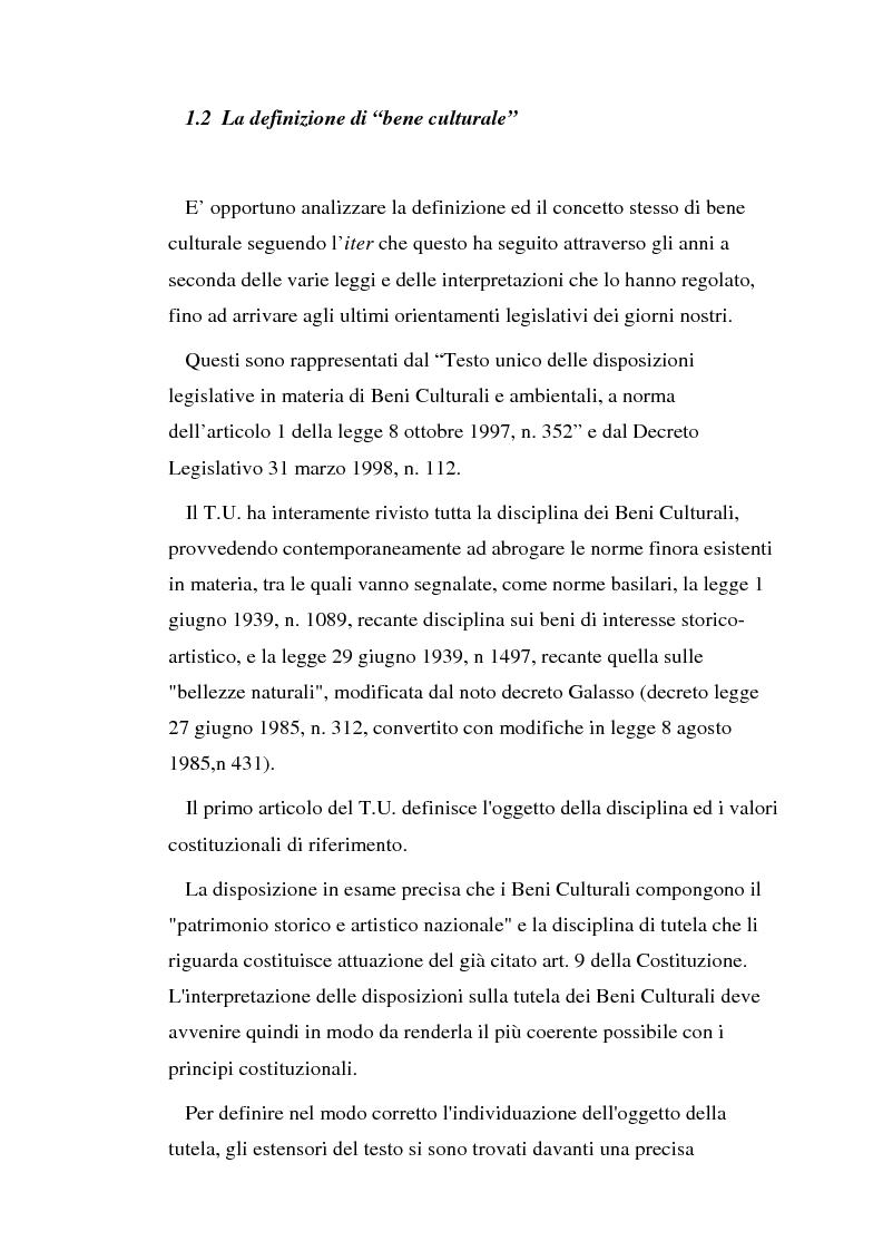 Anteprima della tesi: Il diritto di prelazione artistica, Pagina 3