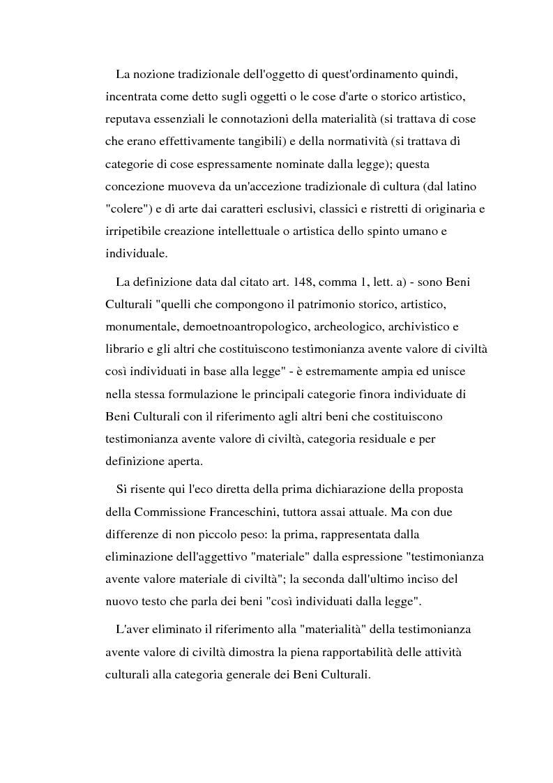 Anteprima della tesi: Il diritto di prelazione artistica, Pagina 6