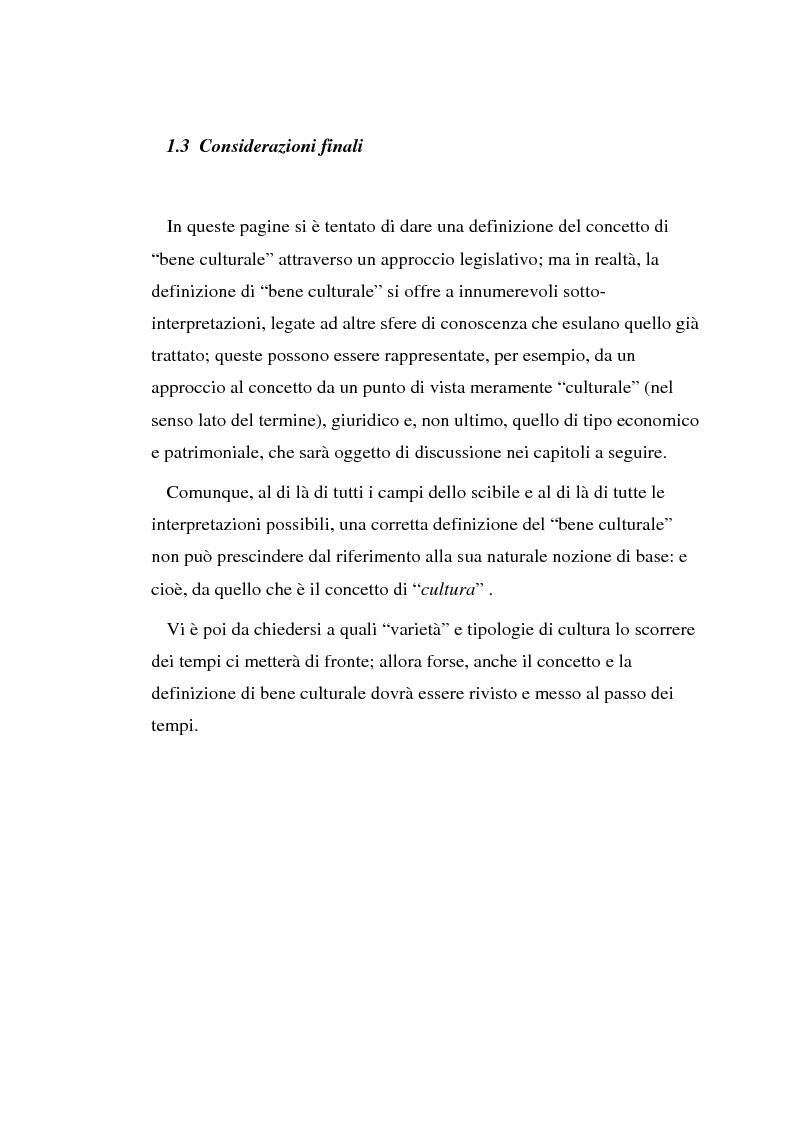 Anteprima della tesi: Il diritto di prelazione artistica, Pagina 7