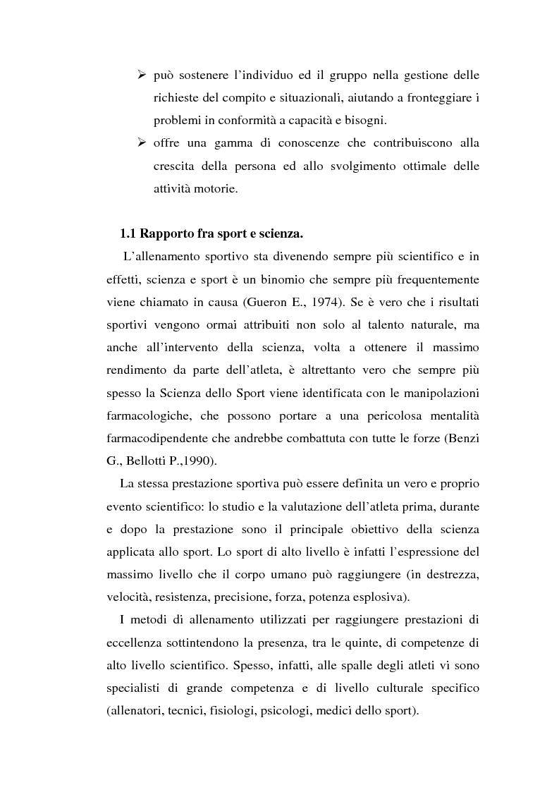Anteprima della tesi: Relazioni sociali e immagine di sè: aspetti psicologici nella ginnastica artistica agonistica, Pagina 10