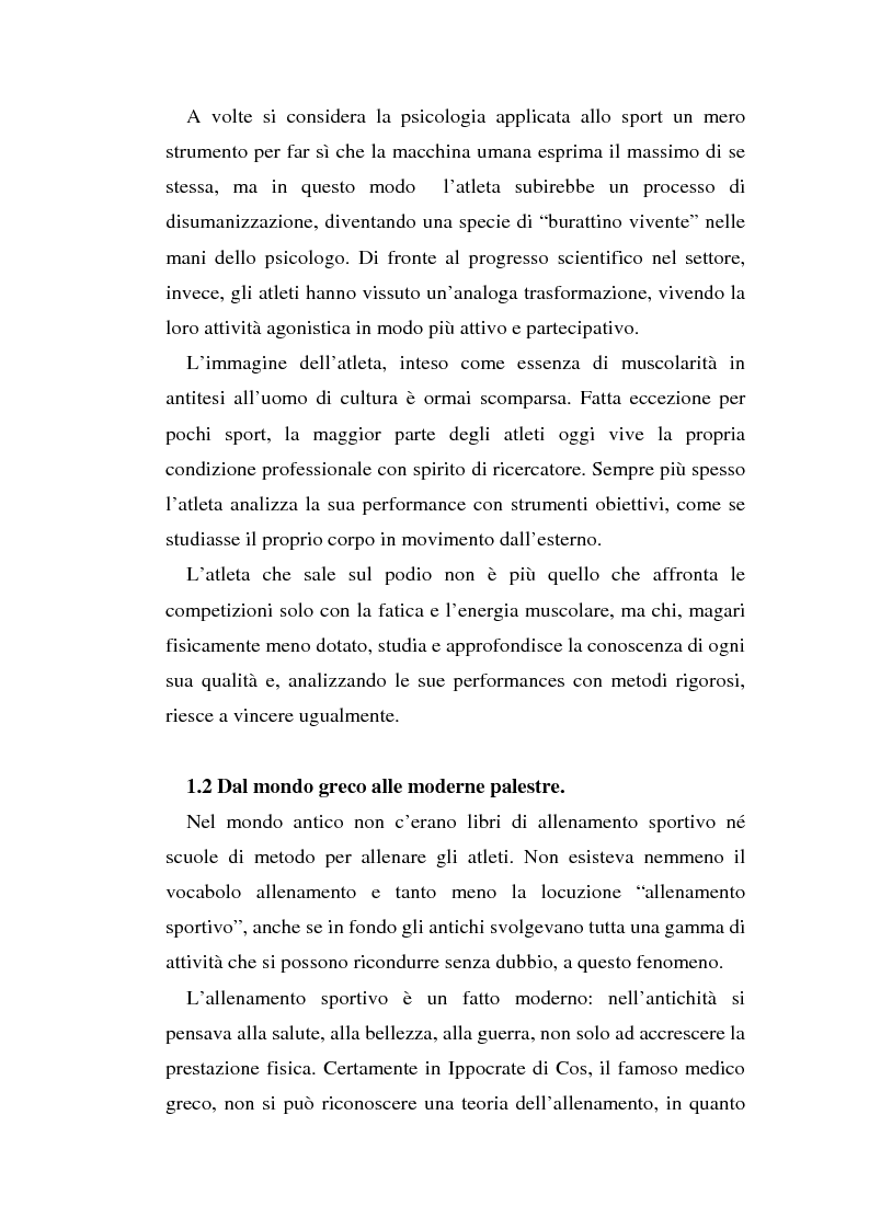 Anteprima della tesi: Relazioni sociali e immagine di sè: aspetti psicologici nella ginnastica artistica agonistica, Pagina 11