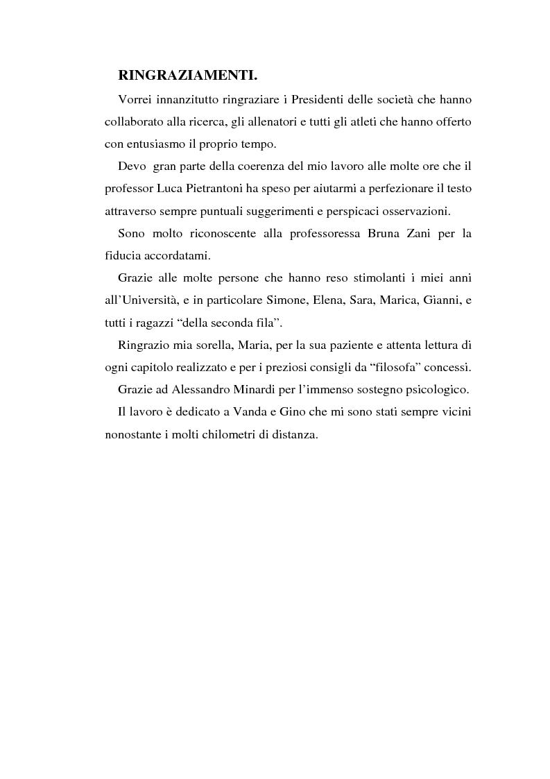 Anteprima della tesi: Relazioni sociali e immagine di sè: aspetti psicologici nella ginnastica artistica agonistica, Pagina 6