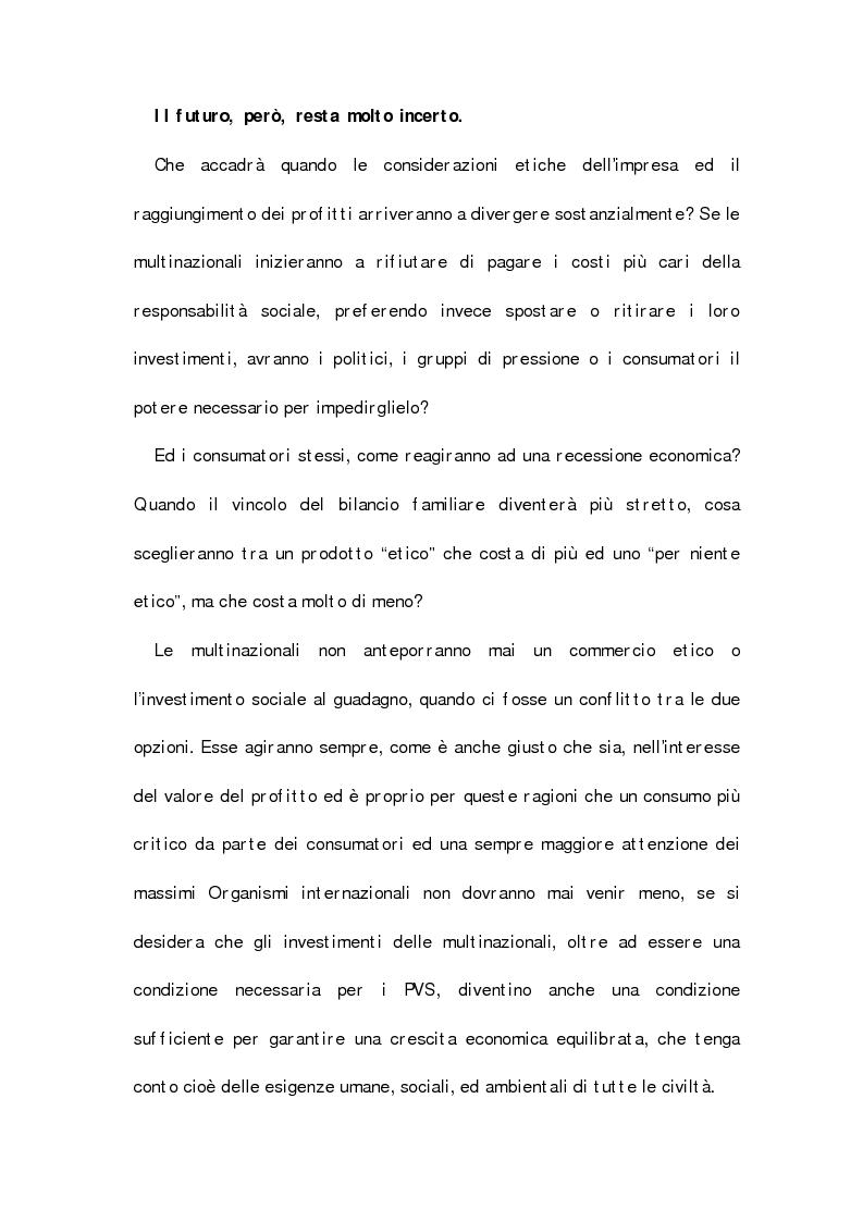 Anteprima della tesi: Il potere dei consumatori e il condizionamento delle strategie delle multinazionali, Pagina 4