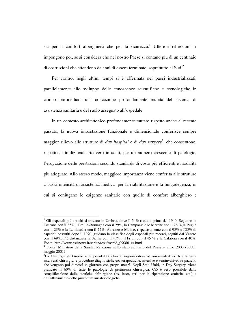 Anteprima della tesi: Le prospettive di applicazione del project financing al settore ospedaliero italiano, Pagina 2