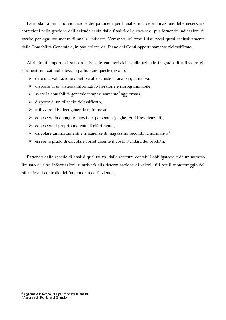Anteprima della tesi: (Verso il controllo di gestione) Il monitoraggio di bilancio nella piccola e media impresa: una proposta di soluzione, Pagina 2