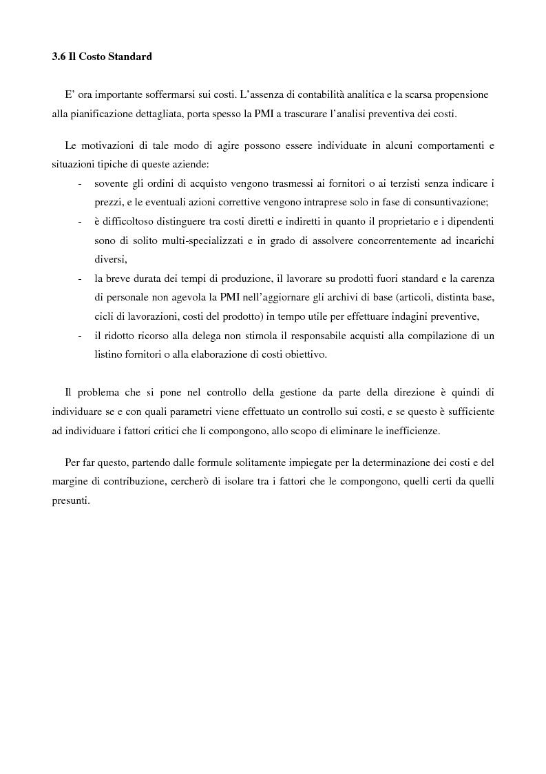 Anteprima della tesi: (Verso il controllo di gestione) Il monitoraggio di bilancio nella piccola e media impresa: una proposta di soluzione, Pagina 3