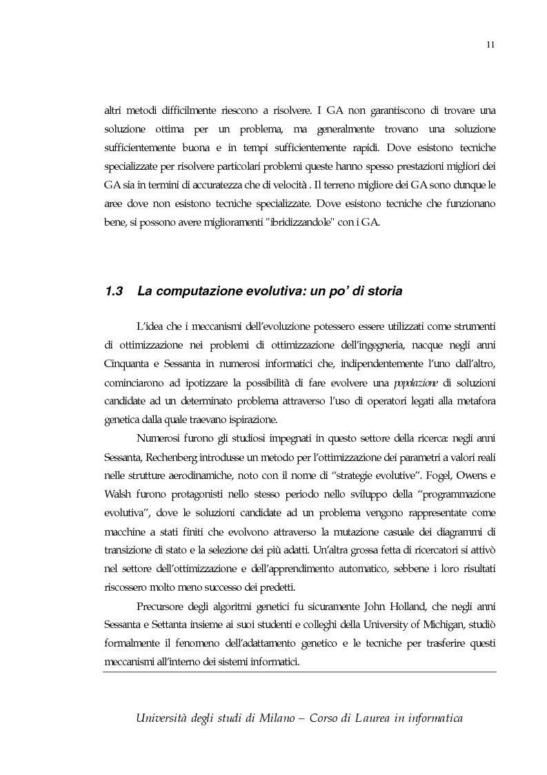 Anteprima della tesi: Proposizione e simulazione di un modello genetico nel caso di popolazione finita, Pagina 6