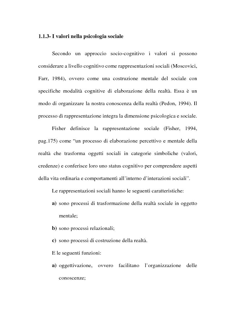 Anteprima della tesi: I valori e il processo decisionale nelle organizzazioni, Pagina 13