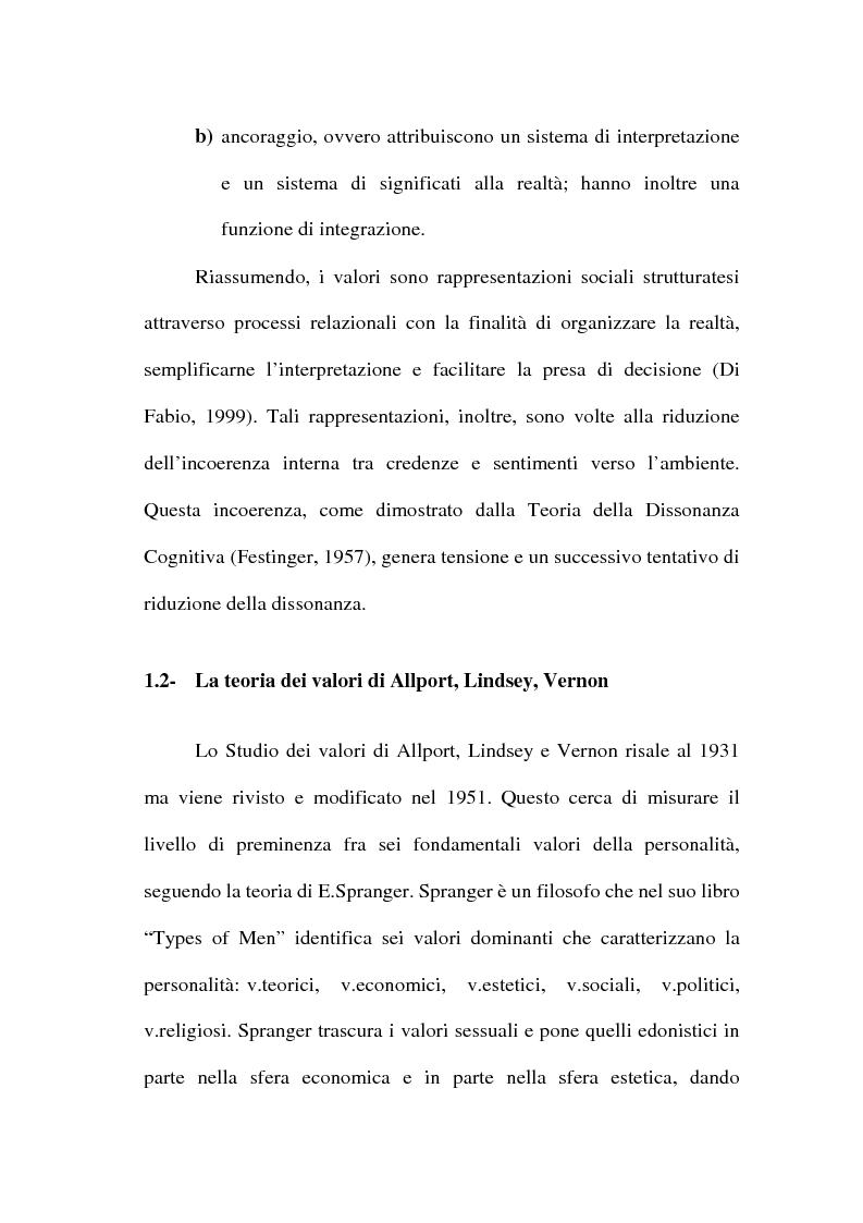 Anteprima della tesi: I valori e il processo decisionale nelle organizzazioni, Pagina 14