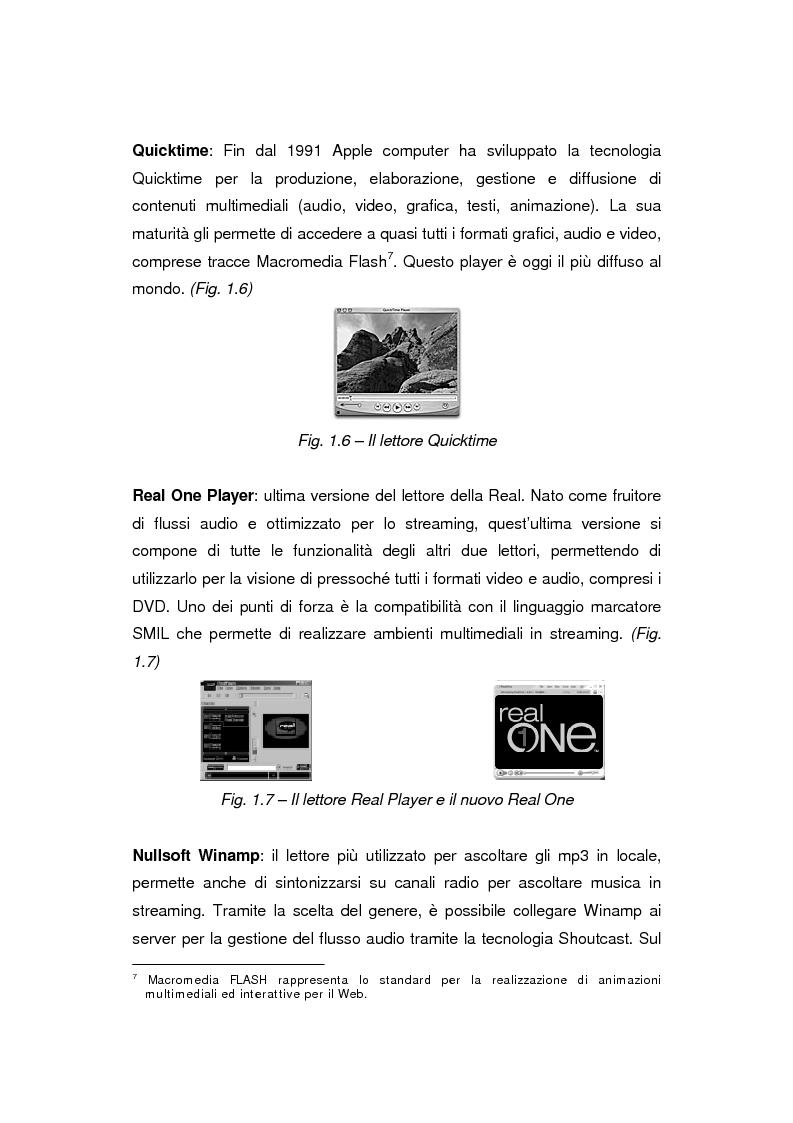 Anteprima della tesi: Comunicazione e gestione dei flussi audiovisivi digitali, Pagina 13