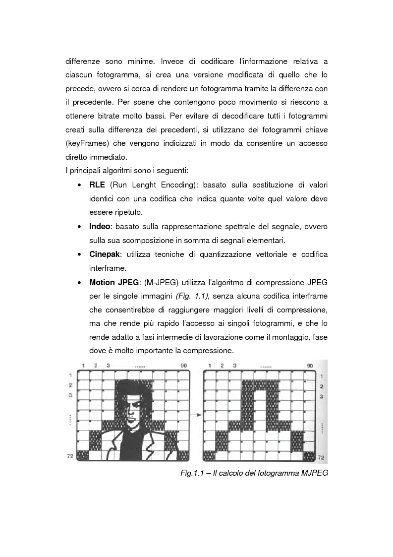 Anteprima della tesi: Comunicazione e gestione dei flussi audiovisivi digitali, Pagina 4