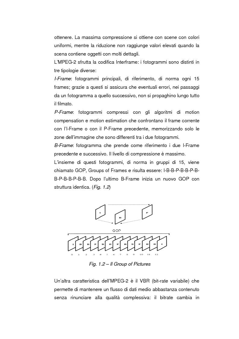 Anteprima della tesi: Comunicazione e gestione dei flussi audiovisivi digitali, Pagina 6