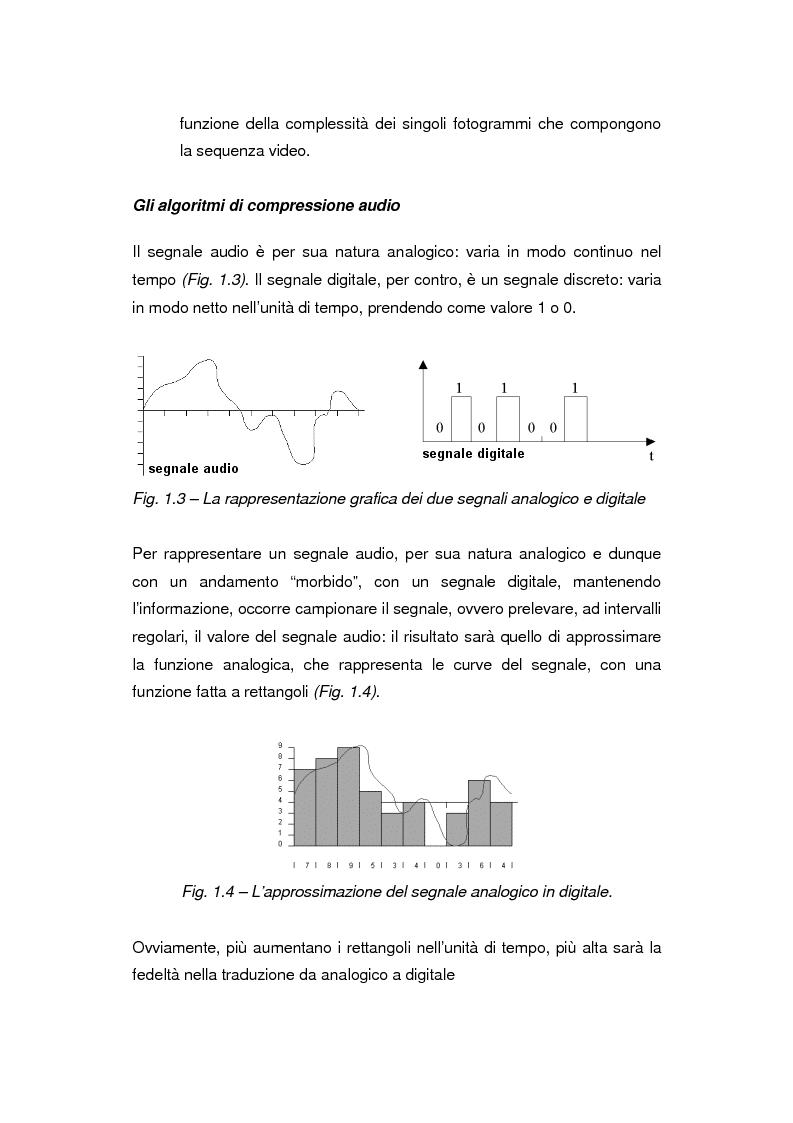 Anteprima della tesi: Comunicazione e gestione dei flussi audiovisivi digitali, Pagina 7