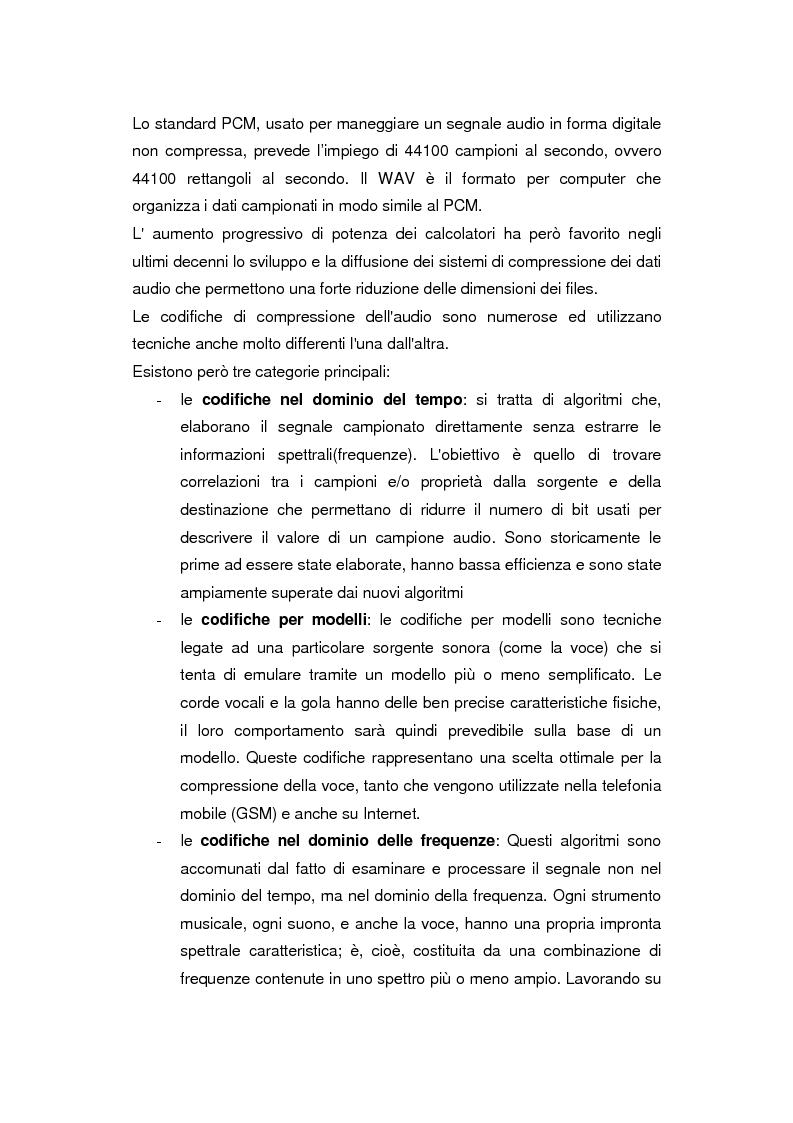 Anteprima della tesi: Comunicazione e gestione dei flussi audiovisivi digitali, Pagina 8